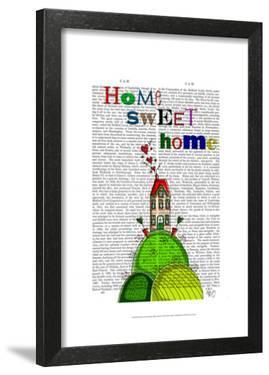 Home Sweet Home Illustration by Fab Funky