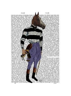 Horse Racing Jockey Full by Fab Funky