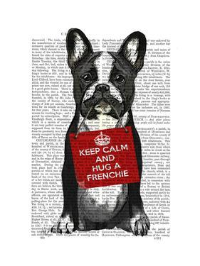 Hug a Frenchie by Fab Funky