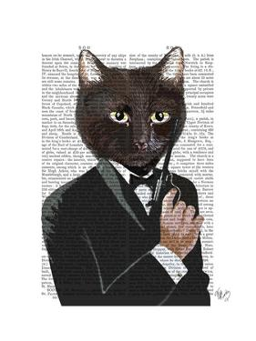 James Bond Cat by Fab Funky