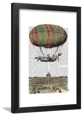 Jardin De Tuileries Hot Air Balloon by Fab Funky