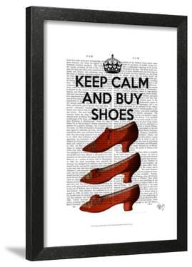 Keep Calm Buy Shoes by Fab Funky