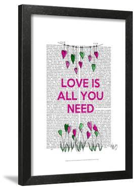 Love Is All You Need Illustration by Fab Funky