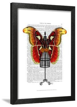 Mannequin Red And Yellow Butterfly by Fab Funky