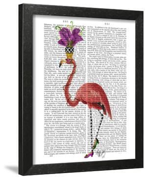 Mardi Gras Flamingo Full by Fab Funky