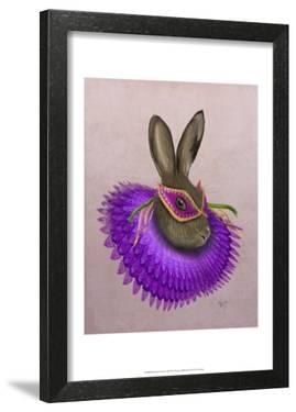 Mardi Gras Hare by Fab Funky