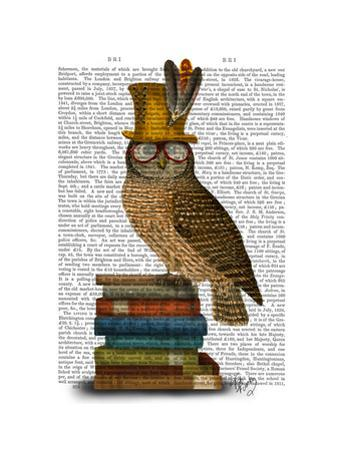 Owl on Books by Fab Funky