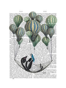 Penguin in Hammock Balloon by Fab Funky