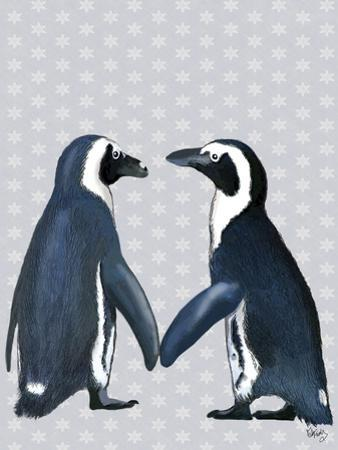 Penguins In Love by Fab Funky