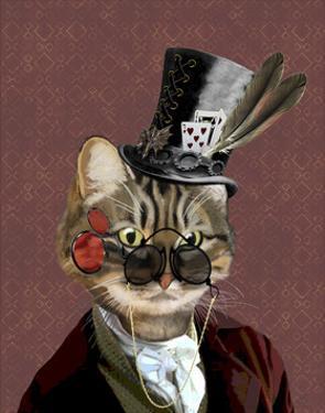 Phileas Feline Steampunk Cat by Fab Funky