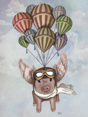 Pig and Balloons