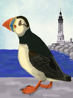 Puffin On the Quay by Fab Funky