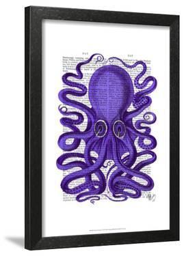 Purple Octopus by Fab Funky