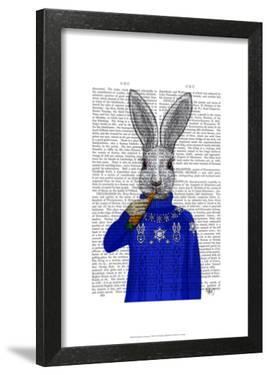 Rabbit In Sweater by Fab Funky