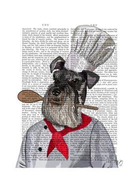 Schnauzer Chef by Fab Funky