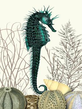SeaHorse and Sea Urchins by Fab Funky