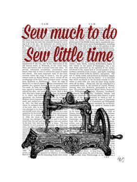 Sew Little Time Illustration by Fab Funky