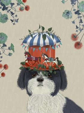 Shih Tzu Milliners Dog by Fab Funky