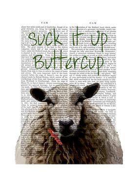 Suck It Up Buttercup by Fab Funky
