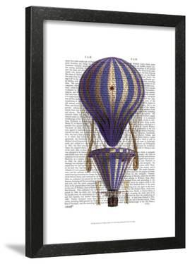 Tiered Hot Air Balloon Blue by Fab Funky
