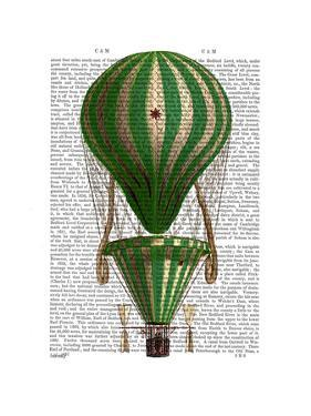 Tiered Hot Air Balloon Green by Fab Funky