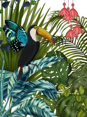 Toucan in Tropical Forest by Fab Funky