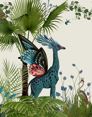 Tropical Giraffe 2 by Fab Funky
