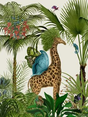 Tropical Giraffe 5 by Fab Funky