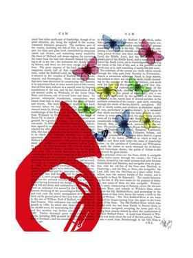 Tuba with Butterflies by Fab Funky