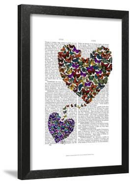 Two Butterfly Hearts by Fab Funky