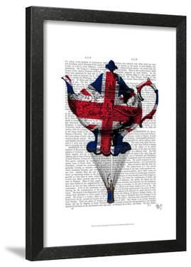 Union Jack Flying Teapot by Fab Funky