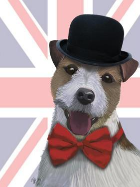 Union Jack Jack Russell by Fab Funky