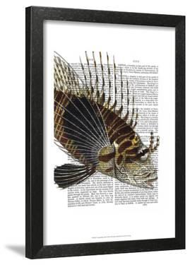 Vintage Spiky Fish by Fab Funky