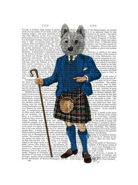 West Highland Terrier in Kilt by Fab Funky