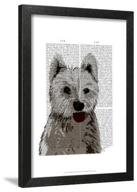 West Highland Terrier Plain by Fab Funky