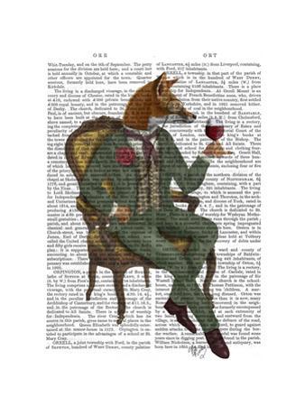 Wine Taster Fox Full by Fab Funky