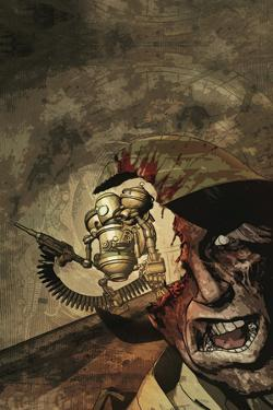 Zombies vs. Robots: Undercity - Cover Art by Fabio Listrani