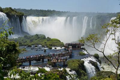 Garganta Del Diablo at the Iguazu Falls by Fabio Lotti