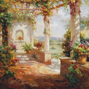 Pergola Flowers by Fabio