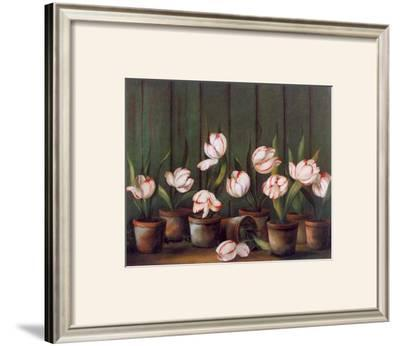 Tulipes Blanches by Fabrice De Villeneuve