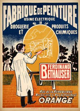 Fabrique de Peinture (c.1925)