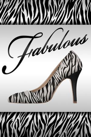 Fabulous Fashion Plastic Sign