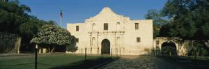 Facade of a Building, Alamo, San Antonio Missions National Historical Park, San Antonio, Texas, USA