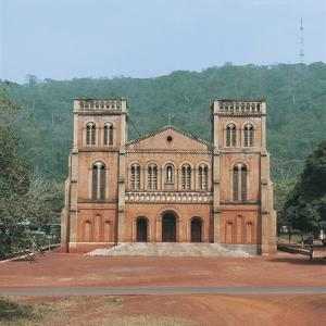 Facade of a Cathedral, Notre Dame Cathedral, Bangui, Central African Republic