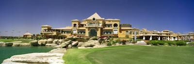Facade of a Golf Course, the Cascades Golf and Country Club, Soma Bay, Hurghada, Egypt