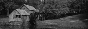 Facade of a Mill, Malbry Mill, Blue Ridge Parkway, North Carolina, USA