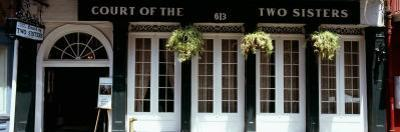 Facade of a Restaurant, Court of Two Sisters Restaurant, New Orleans, Louisiana, USA