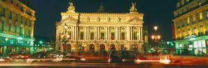 Facade of an Opera House, Palais Garnier, Paris, France