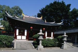 Facade of Guangxiaos (Buddhist Temple of Filial Piety)