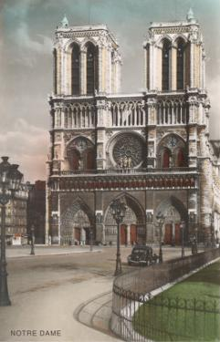 Facade of Notre Dame Cathedral